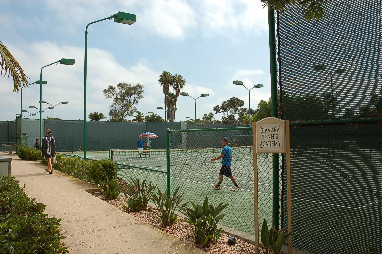 Giavara Tennis Academy courts